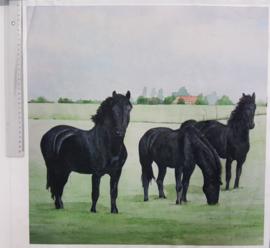 Paard 45/ 50 cm stof