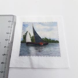 zeilboot stofje 5 cm