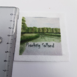 Salland stofje 5 cm