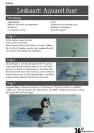 Digitale les kaart: stap voor stap schilderen (aquarel, binnenkort ook acryl) (ook gratis)