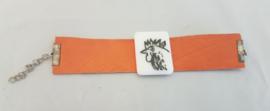 Armband met kip/haan