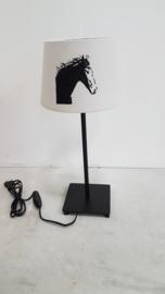 Paard lamp (met rond pootje)