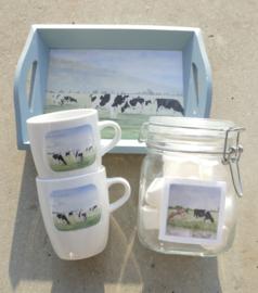 Koeien cadeau geschenken pakket