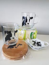 Thee momentje voor 2: koe, geschenken/cadeau  pakket