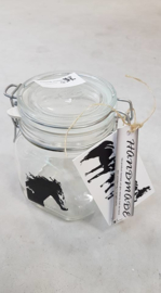 Jar with horse (small)
