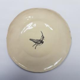 Bordje / schaaltje kievit 17 cm