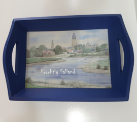 "Dienblad ""Prachtig Salland"" Deventer"