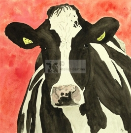 Kühe-Aquarelle