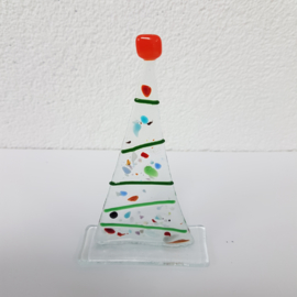 Kerstboom glasfusion