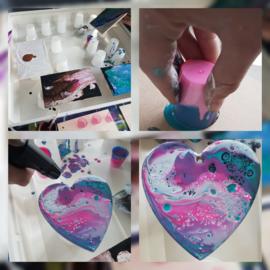 Acryl gieten schilderen