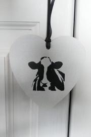 Herzen mit Kuh
