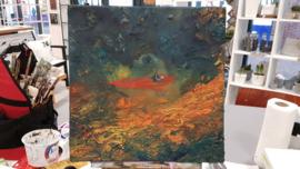 Resultaten: Zaterdag januari 2018 workshop schilderen in Raalte Waag 10