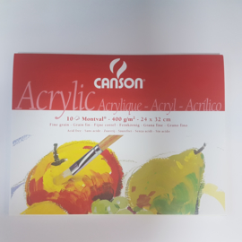 Acryl blok 24 x 32 cm montval