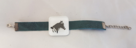 Bracelet with horse