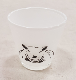 Sheep tea light