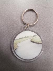Landschap kado/ cadeau / geschenk (landelijke aquarel)