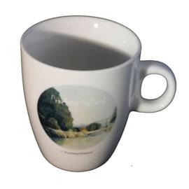 Koffie mokje brug bij Heeten van Prachtig Salland (senseo)