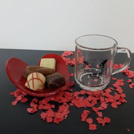 Valentijns cadeau schaap