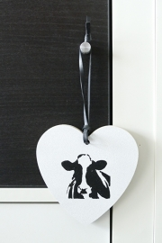 Heart of wood with cow
