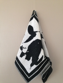 Kitchen and tea towels (cow / horse)