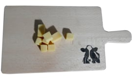 Bread board / cheese board (cow and horse)