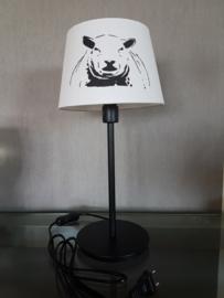schaap lamp met ronde poot