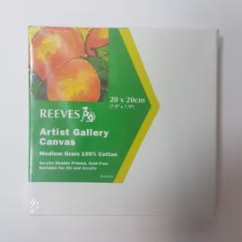 20 x 20 cm canvas doek, 1cm dik