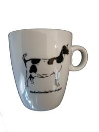 Koffie mokje Nederlandse bonte geit