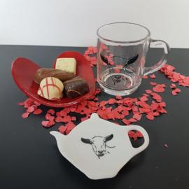 Valentijns cadeau geit
