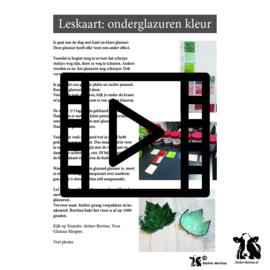 les live /tutorial keramiek: Onderglazuren