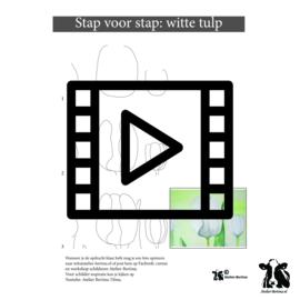 les live /tutorial schetsen: tulpen