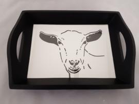 Tray goat