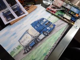 Opdracht: vrachtwagen