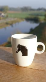 Koffie mokje paard (senso)