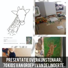 Presentatie over schilderen kunstenaar