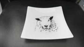 Glazen schapen schaaltjes  glasfusion