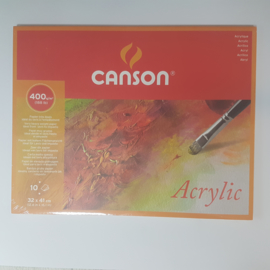 Acryl blok canson 32 x 41, 400 gram