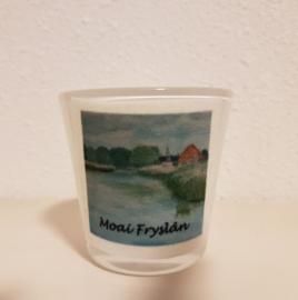 Sfeerlichtje: Moai Fryslân