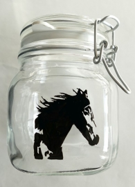 Jars (cow, horse and lapwing)