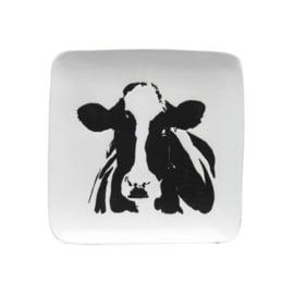 Bord met koe