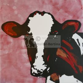 Cows garden poster / garden painting