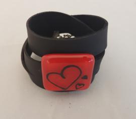 Bracelet with hart