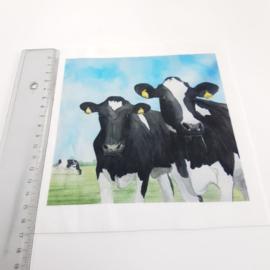 Koe stofje 15 cm