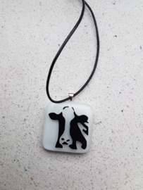 Necklace or hanger cow, horse, sheep, etc.