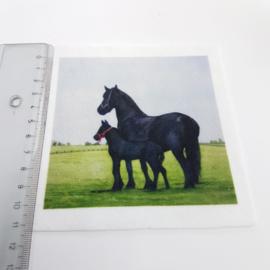 Paarden stofje 10 cm