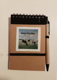 Notitie boekje koeien (Moai Fryslân)