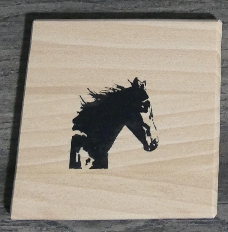 Horse span wood coasters.