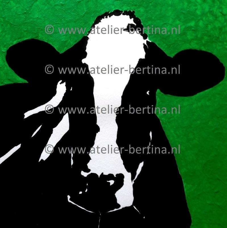 Acryl schilderij groen. 2013
