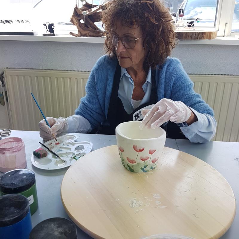 Zaterdag 16 oktober 2021: workshop Keramiek. Boetseren of glazuren in Raalte