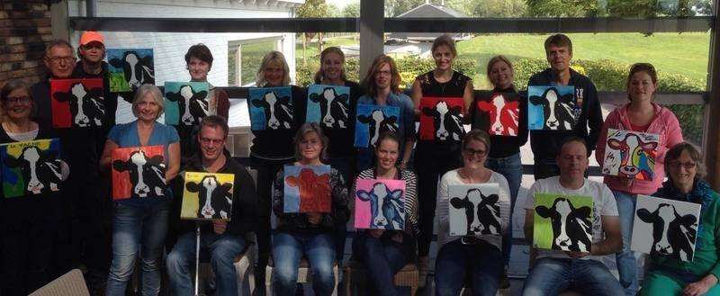 Resultaten 2015 Teamuitje arrangement teamuitje schilderen en varen op de Pollepleats